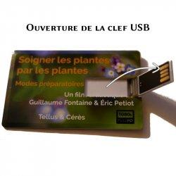 Ouverture de la clef USB du film